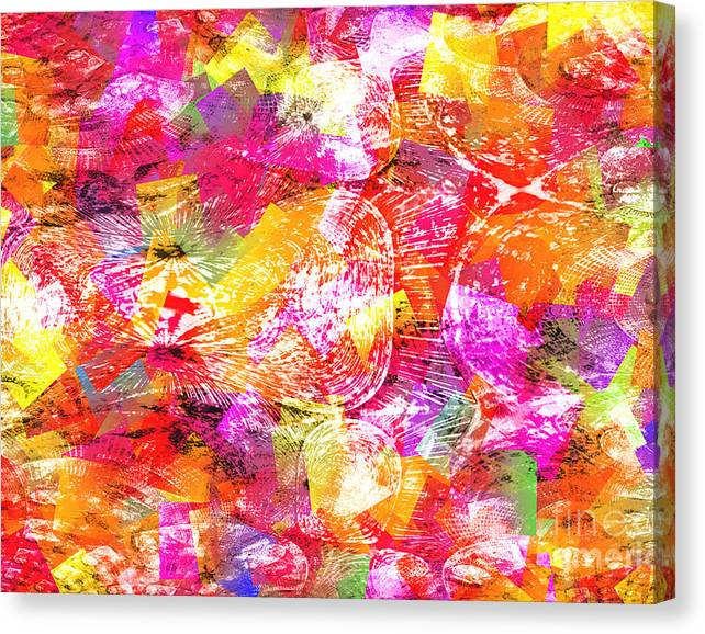 Limited Time Promotion: Blown Away Stretched Canvas Print
