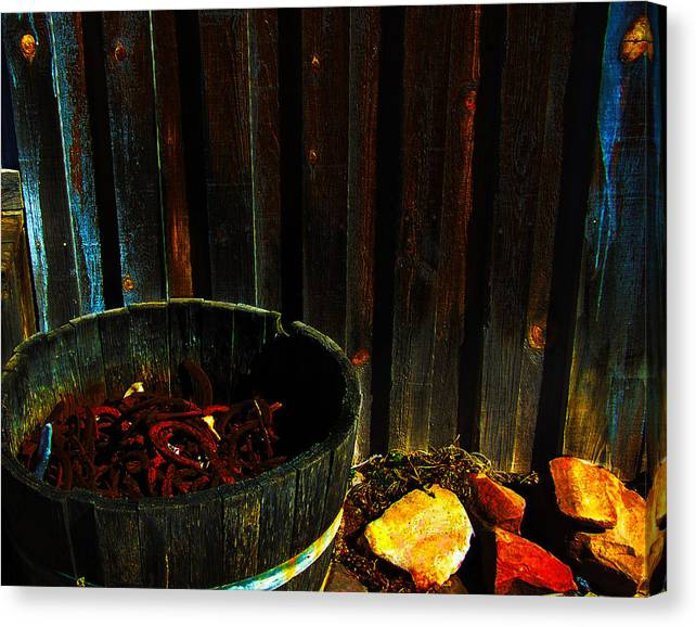 Limited Time Promotion: Forge Stretched Canvas Print