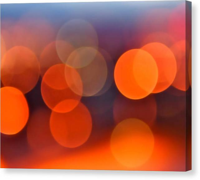 Limited Time Promotion: The Edge Of Night Stretched Canvas Print