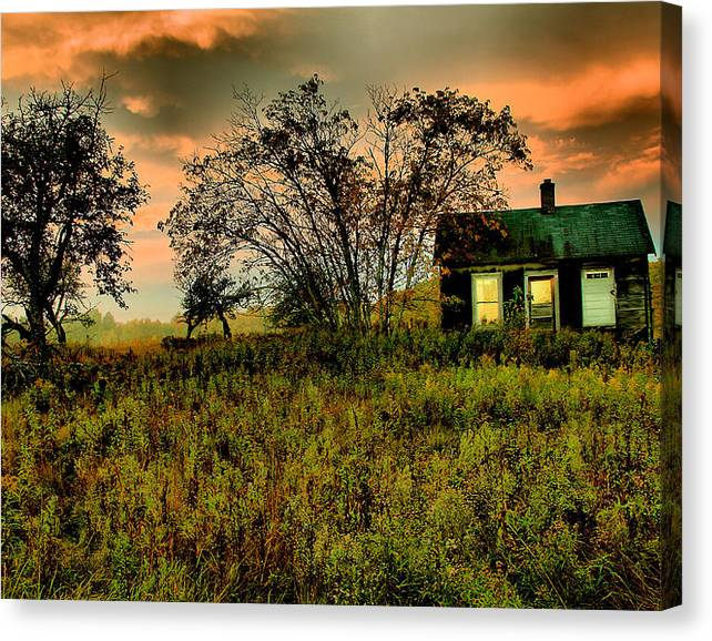 Limited Time Promotion: Sunrise On The Prairie Stretched Canvas Print