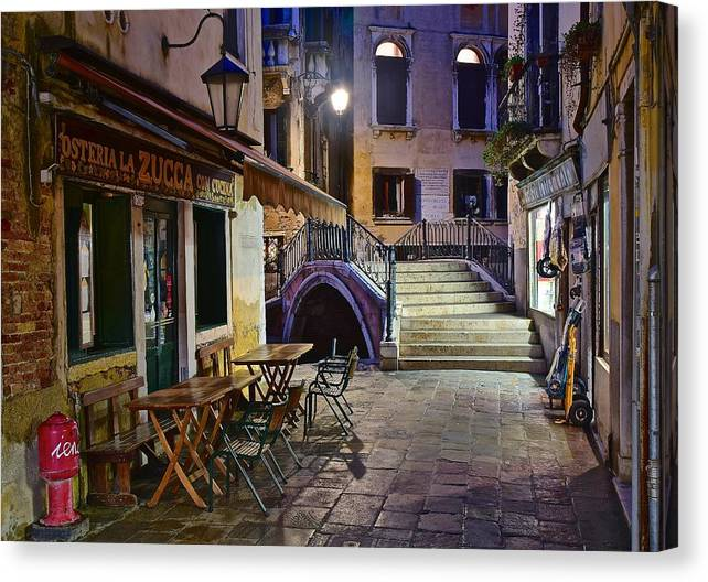 Limited Time Promotion: Aahhh Venice Stretched Canvas Print