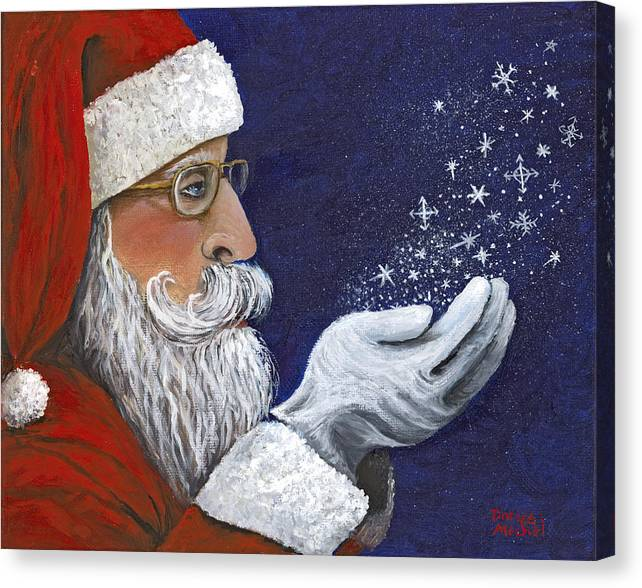 Limited Time Promotion: Christmas Wish Stretched Canvas Print