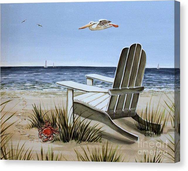 Limited Time Promotion: The Pelican Stretched Canvas Print