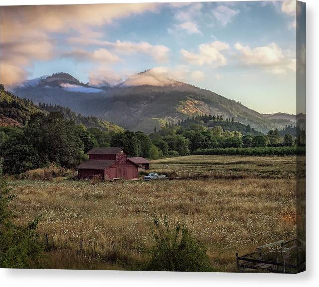 Limited Time Promotion: Thinking Of Home Stretched Canvas Print