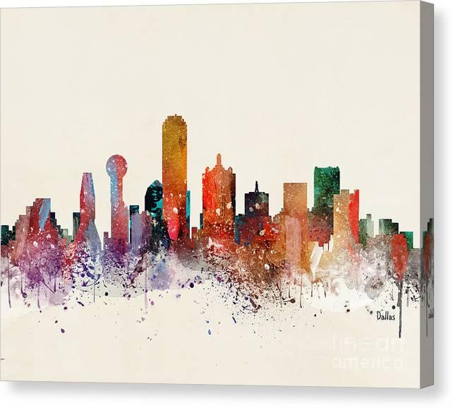 Dallas Skyline by Bri Buckley