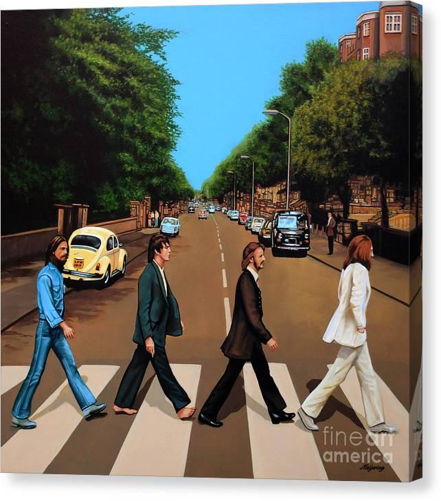 The Beatles Abbey Road by Paul Meijering