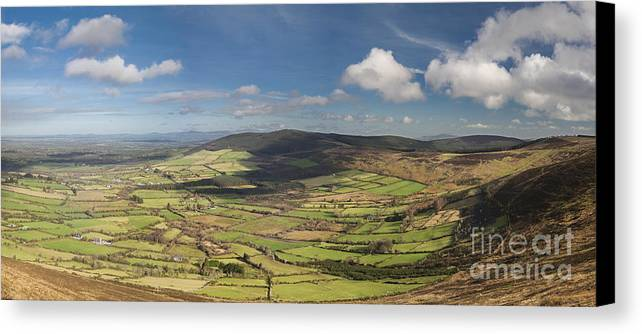 Blackstairs Mountains Canvas Print featuring the photograph Blackstairs Mountains 6 by Michael David Murphy