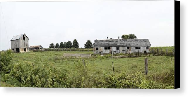 Farm Canvas Print featuring the photograph Vintage Farm by Bonfire Photography