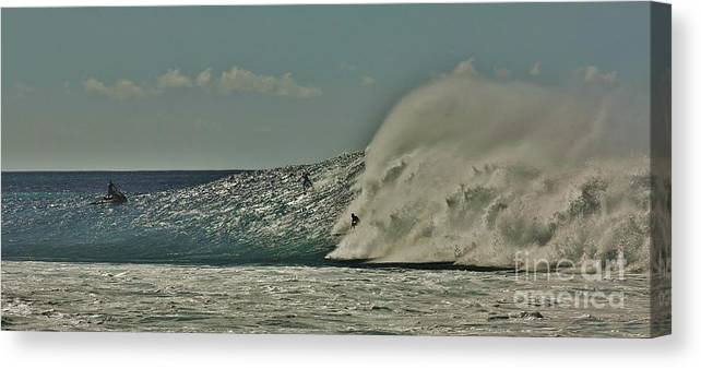 Surf Canvas Print featuring the photograph Big Surf by Craig Wood