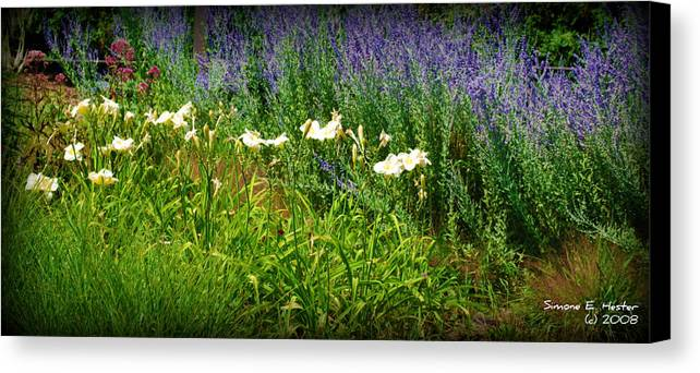 Wild Flowers Canvas Print featuring the photograph Wild Grow by Simone Hester