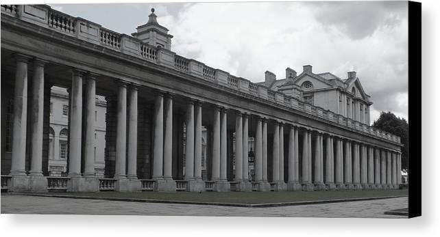 Columns Canvas Print featuring the photograph Endless Columns by Anna Villarreal Garbis