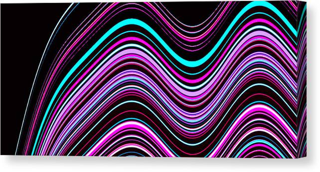 Communications Canvas Print featuring the photograph Frequencies 1 by Bruce Iorio
