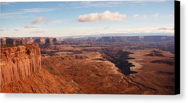 Needles District Canvas Print featuring the photograph Canyonlands by Thomas and Thomas Photography