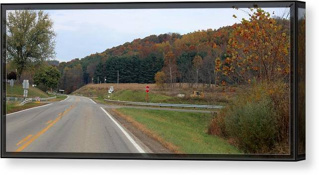 Autumn Canvas Print featuring the photograph      Autumn On 179 by R A W M