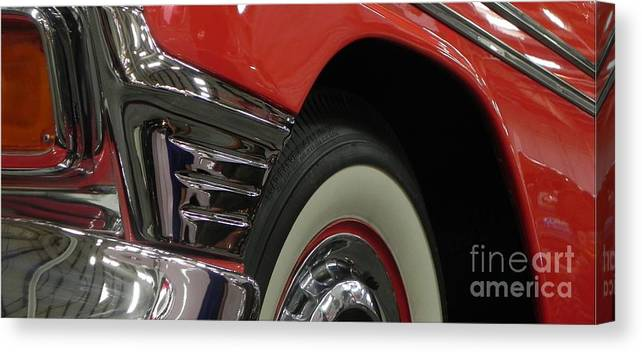 Low Rider Canvas Print featuring the photograph 56 Dream Machine by Chuck Re