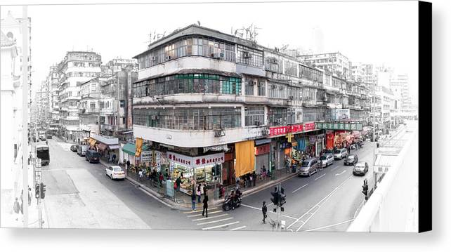Effect Canvas Print featuring the photograph sketch 004 SSP by Kam Chuen Dung
