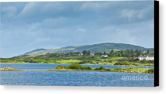 Ardmore Bay Canvas Print featuring the photograph Ardmore Bay by Gabriela Insuratelu