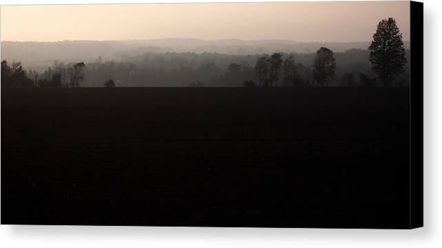 Hills Canvas Print featuring the photograph Distant Hills by Tim Nyberg