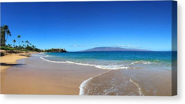 Kaanapali Beach In Maui Hawaii Canvas Print