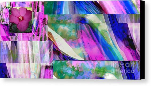 Art In Nature Canvas Print featuring the photograph Art In Nature, Florals by Aleksandra Pomorisac