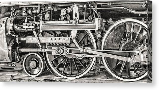Train Canvas Print featuring the photograph Royal Hudson by Irene Theriau
