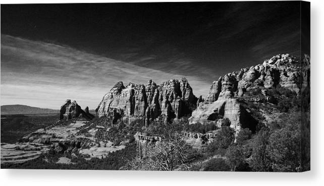 Sedona Canvas Print featuring the photograph Sedona Reversed by Randy Oberg