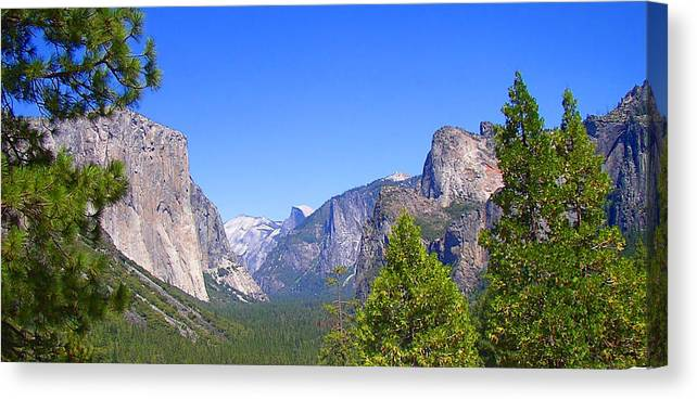 Yosemite Canvas Print featuring the photograph The Valley Of Inspiration-yosemite by Glenn McCarthy Art and Photography