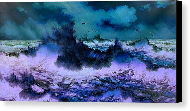 Impression Canvas Print featuring the painting Image by Raphael Sanzio