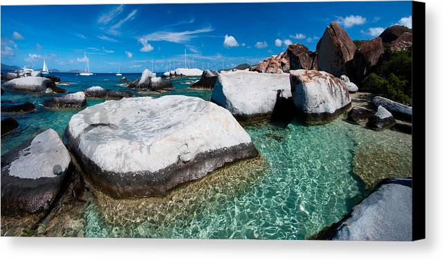 3scape Photos Canvas Print featuring the photograph The Baths by Adam Romanowicz