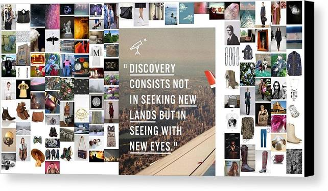 Canvas Print featuring the photograph Discovery Is So by Holley Jacobs