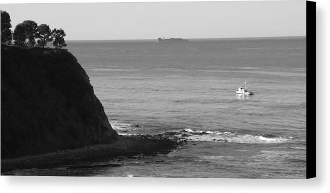 Ocean Canvas Print featuring the photograph Adrift by Shari Chavira