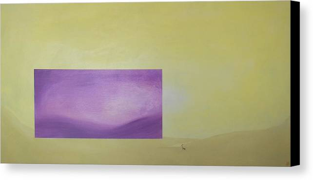 Abstract Canvas Print featuring the painting Change by Bojana Randall