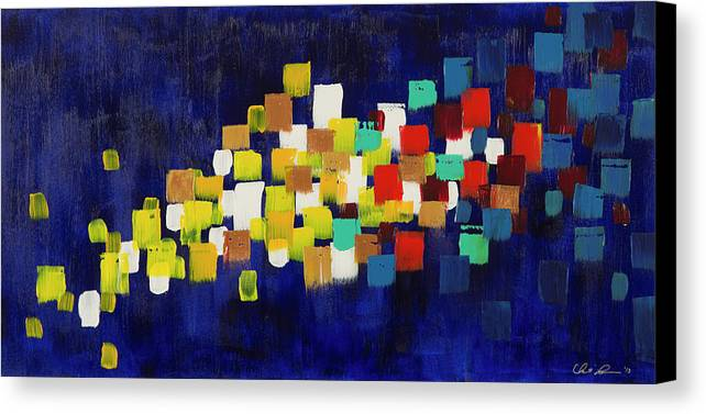 Abstract Canvas Print featuring the painting Generations by Chelsie Ring