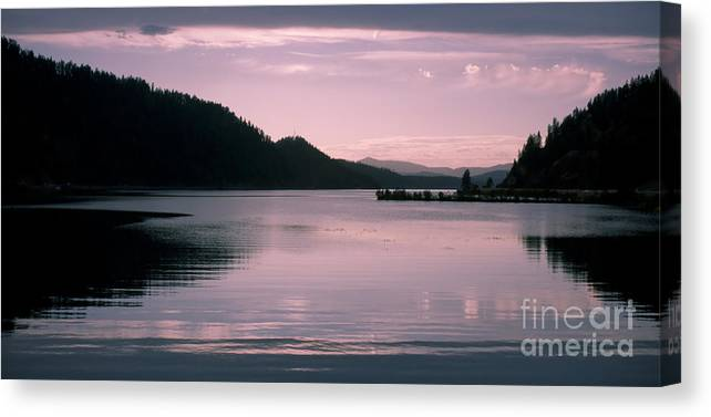 Idaho Canvas Print featuring the photograph Quiet Afternoon by Idaho Scenic Images Linda Lantzy