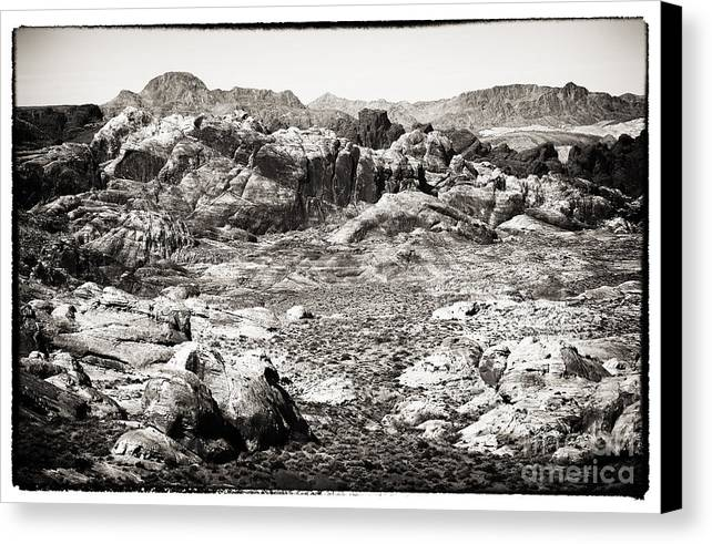 Lost In The Valley Canvas Print featuring the photograph Lost In The Valley by John Rizzuto