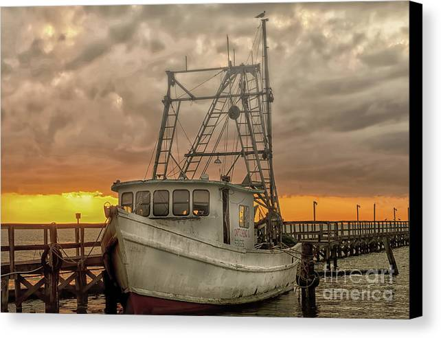 #rockmyphotos143 Canvas Print featuring the photograph Break Of Dawn by Darla Rae Norwood