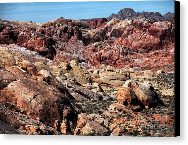 Mars On Earth Canvas Print featuring the photograph Mars On Earth by John Rizzuto
