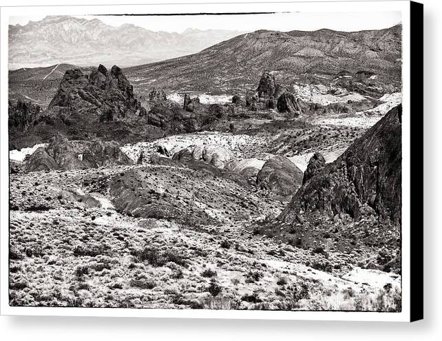 Miles Of Mountains Canvas Print featuring the photograph Miles Of Mountains by John Rizzuto