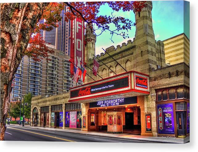 The Fabulous FOX Theatre Atlanta Georgia Art by Reid Callaway