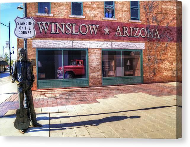Winslow Arizona by Donna Kennedy