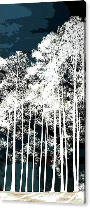 Triptych Left Sam Rayburn Lake  by Ellen O'Reilly