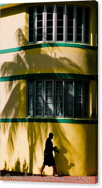 Fine Canvas Print featuring the photograph In The Shadows by Joseph Reilly