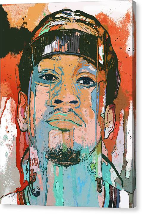Allen Iverson The Answer  by Michael Pattison