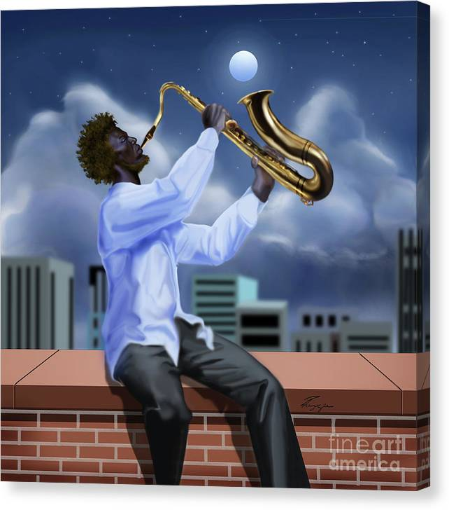 Free Jazz Moon by Reggie Duffie