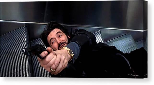 Al Pacino Canvas Print featuring the digital art Al Pacino @ Carlito's Way by Gabriel T Toro