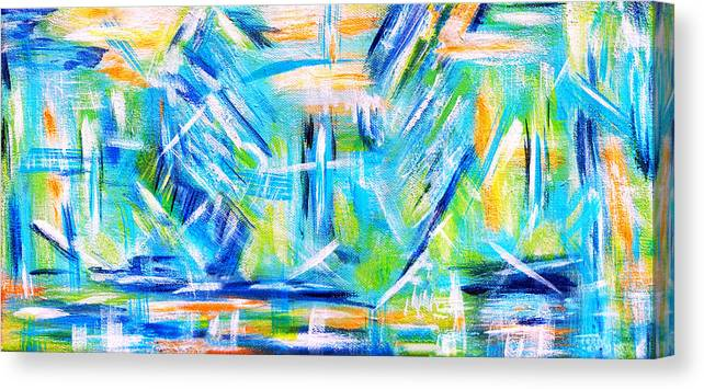 Sun Canvas Print featuring the painting Sun Kissed by Donna Proctor