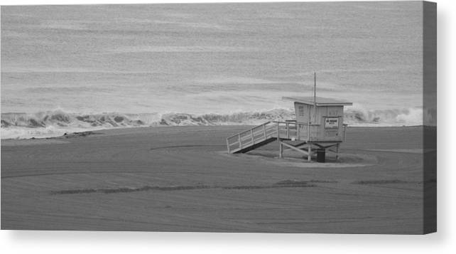 Beaches Canvas Print featuring the photograph Life Guard Stand by Shari Chavira