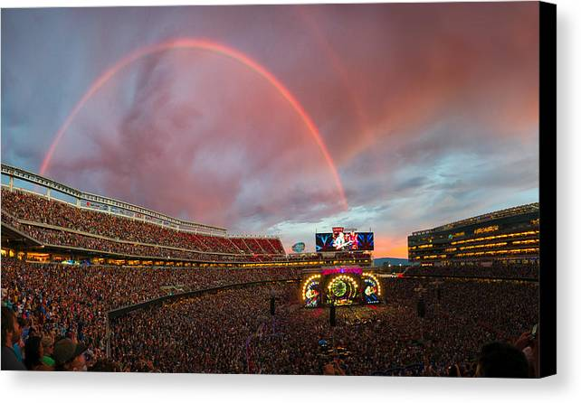 The Grateful Dead Rainbow of Santa Clara, California by Beau Rogers