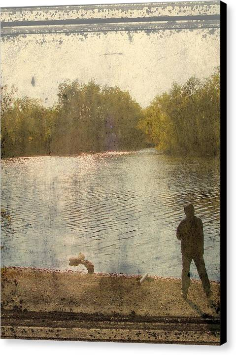 Canvas Print featuring the photograph Time by Luciana Seymour