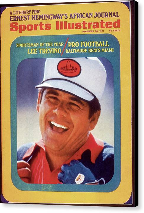 Lee Trevino, 1971 Heritage Classic Invitational Sports Illustrated Cover Canvas Print